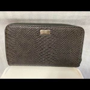 Thirty-one New WALLET In city charcoal snake